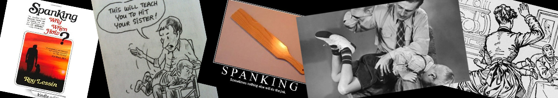 I was spanked, and I turned out…