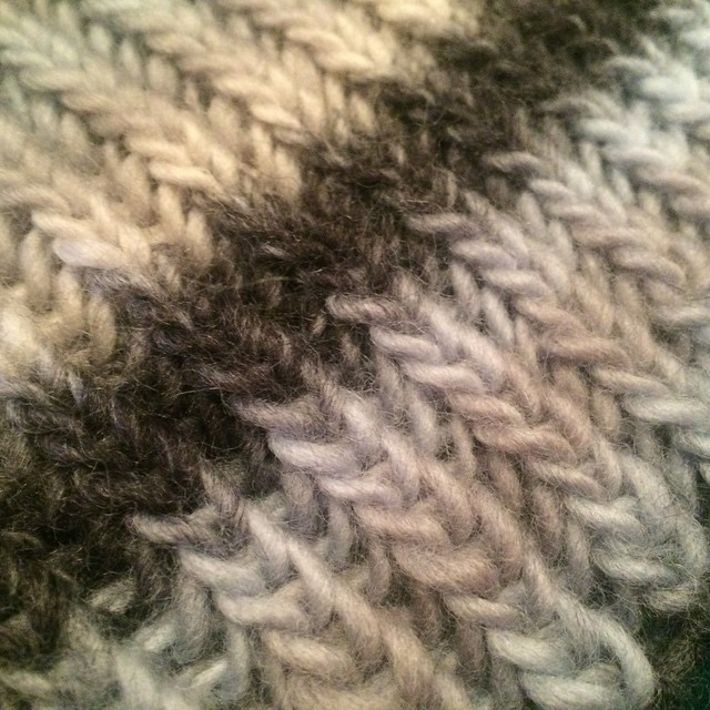 How to Knit Fishermans Rib in the Round